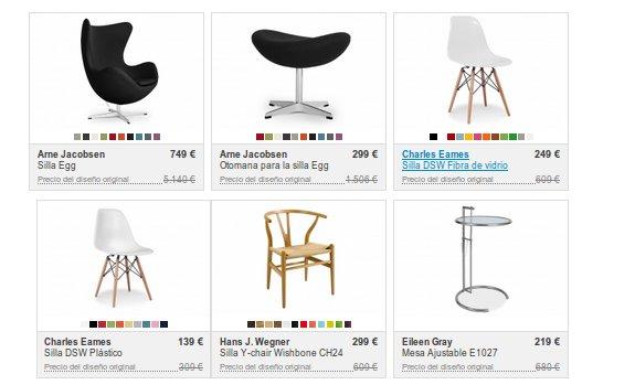 El mobiliario de dise o infurn muebles de un estilo nico for Mobiliario de diseno