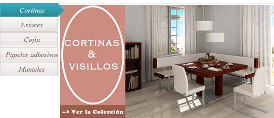 Las cortinas y visillos online una opci n econ mica para - Cortinas y visillos baratos ...