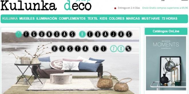 Muebles deco art baratos: 2 propuestas online