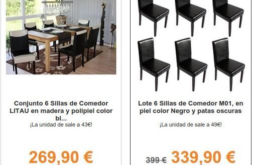 Homy, opiniones muebles y decoración: sillas de comedor