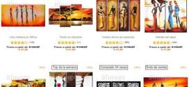 Bimago opiniones sobre murales y cuadros étnicos