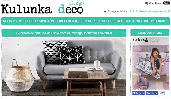 Kulunka deco shop: muebles y decoración online