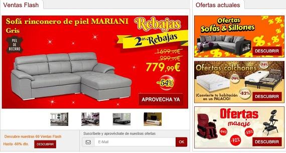 Muebles baratos 2016: opiniones de la compra online por Internet