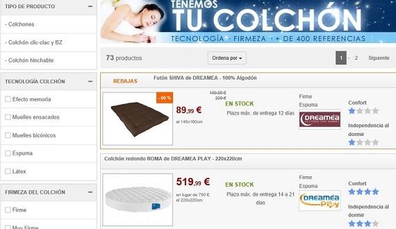 Colchones online a precios baratos: viscoelásticos y de muelles