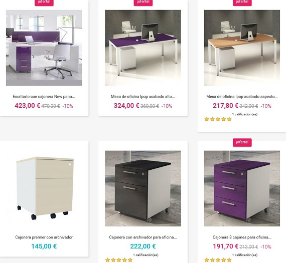 Muebles de oficina modernos a medida online y baratos - Comprar muebles por internet ...