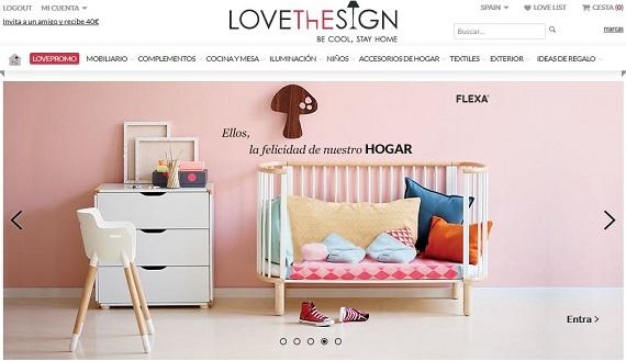 Lovethesign España: opiniones de muebles, decoración y lámparas