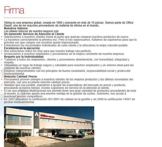 Viking direct opiniones de la tienda de material de oficina for M bankia es oficina internet
