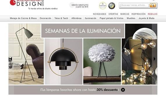 Muebles nórdicos online para el salón: precios baratos