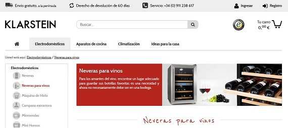 Neveras para vinos baratas y online: precios y opiniones