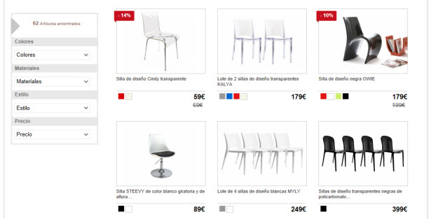 Comprar sillas modernas en Miliboo