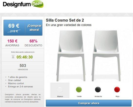 Comprar sillas de metacrilato: una opción barata y elegante