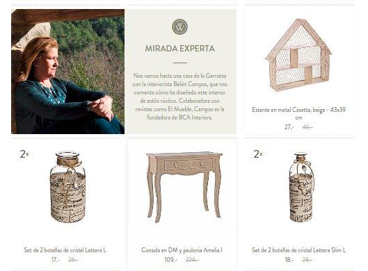 Muebles vintage online portales baratos y exclusivos - Muebles online vintage ...