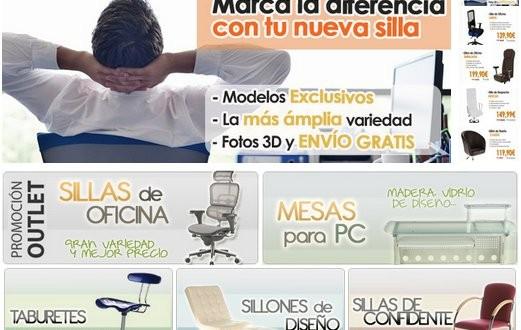 Sillas de oficina baratas online y a domicilio for Sillas de oficina baratas