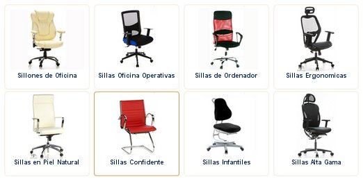 Sillas de oficina outlet