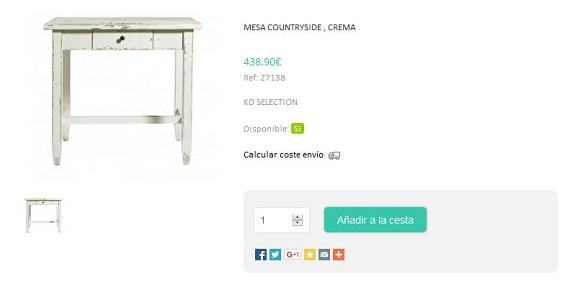 Kulunka deco shop muebles