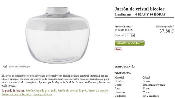 Casa y Lienzo jarrones