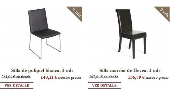 Casa y Lienzo sillas