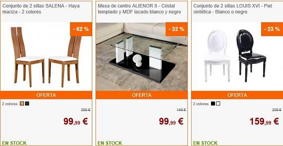 Mercadillo de navidad venta única muebles y decoración