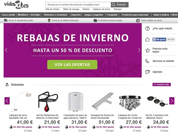 Muebles baratos 2018 opiniones de la compra online por for Compra de muebles por internet