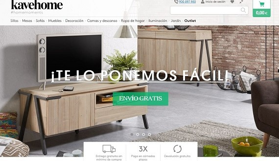 Kavehome opiniones de los muebles y decoraci n online for Muebles y decoracion online