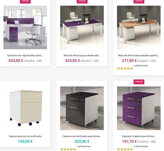 Muebles oficina online best si est reamueblar su espacio for Precios de muebles para oficina