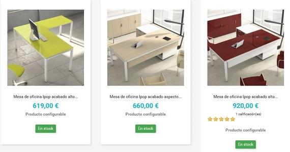 Muebles de oficina modernos a medida 2018 online y baratos for Muebles baratos por internet