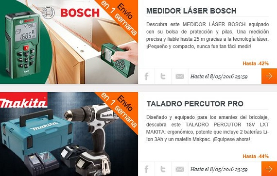 bricolaje outlet