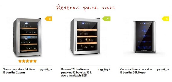 neveras-para-vinos-online