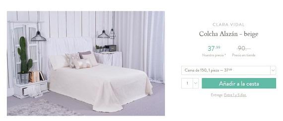 colchas de cama 150