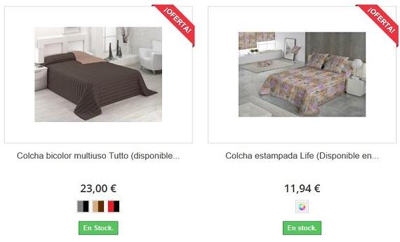 colchas de cama baratas
