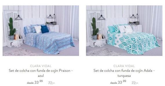 colchas de cama estampadas