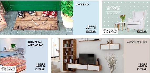 Opiniones de privalia 2018 env os de muebles decoraci n y for Privalia muebles