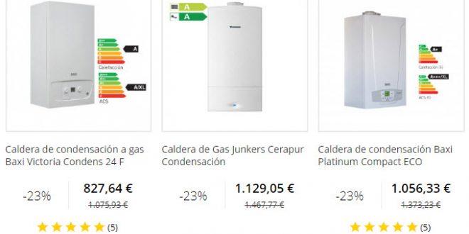 Calderas de condensaci n baratas online gas natural y butano - Calderas de gas baratas ...
