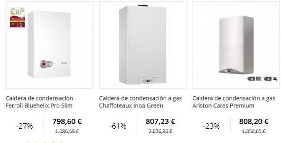Calderas de condensaci n baratas online gas natural y butano - Calderas estancas baratas ...
