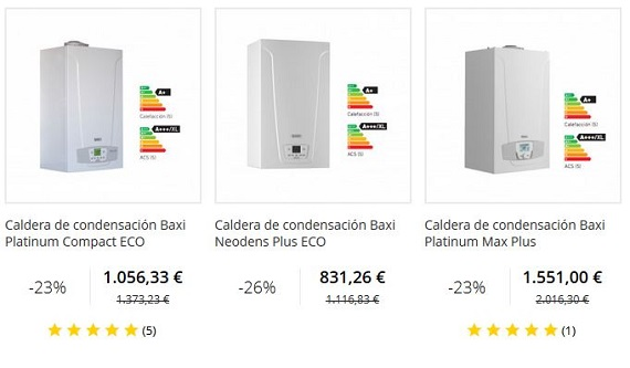 Calderas de condensaci n baratas online gas natural y butano - Caldera de butano ...