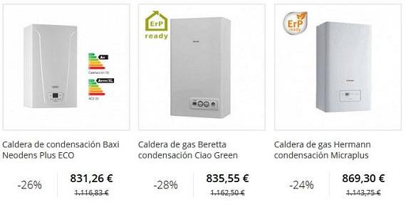 calderas de condensación online