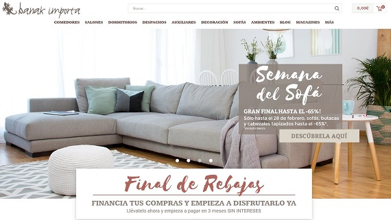 Muebles online baratos y ofertas de decoraci n for Muebles decoracion online