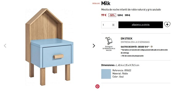 habitat muebles infantiles